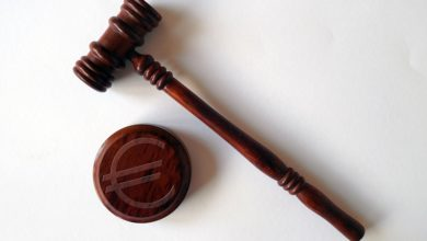 Judgment Hammer Fine Penalty Clause Law Court